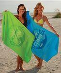 Custom Embroidered Jewel Collection Colored Beach Towel (Screen Print)