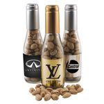 Champagne Bottle w/Pistachios Custom Printed