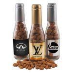 Custom Imprinted Champagne Bottle - Honey Roasted Peanuts