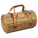 Picnic Time Verona Wine Basket Logo Branded