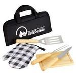 Promotional,Custom Imprinted 5pc BBQ Set