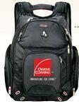 Logo Branded elleven™ Amped Checkpoint-Friendly Compu-Backpack