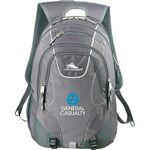 "High Sierra® Vortex Fly-By 17"" Computer Backpack Imprinted Logo"