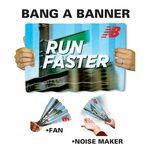 "Promotional Offset Printed Bang A Banner (11""x18"")"