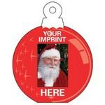 "Custom Imprinted Holiday Fun Small Ornament Photo Frame (3 3/4""x5"")"