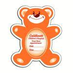 Custom Printed Magnetic Photo Teddy Bear Frame w/ Oval Cut Out