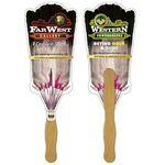 Custom Printed Broom Hand Fan Full Color (2 Sides)