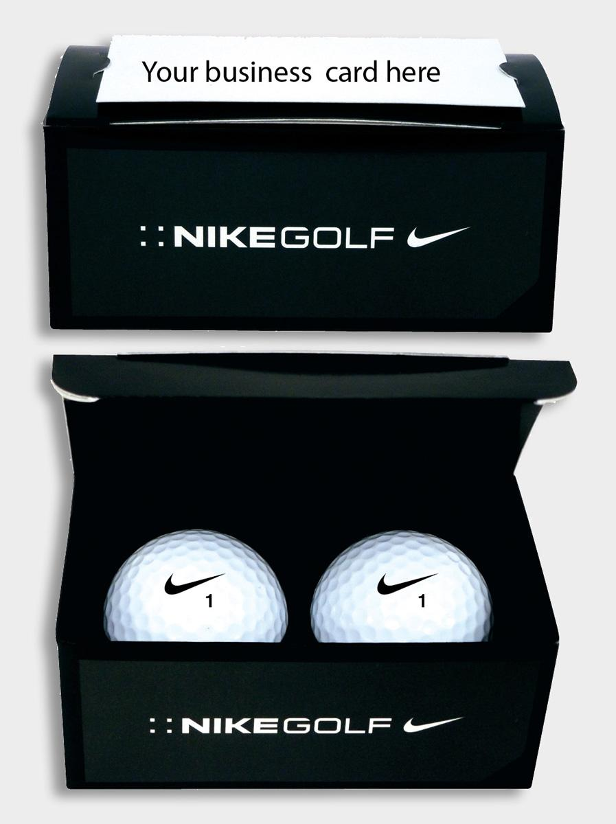 Brava nike power distance soft golf ball 2015 2 ball for Nike business card