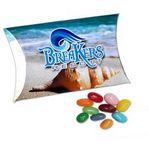 Full Color Paper Pillow Pack w/ Jelly Bellies Logo Branded