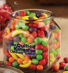 Standard Jelly Beans in Medium Glass Jar Custom Imprinted