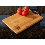 Custom Engraved Bamboo Cutting Board with Handle