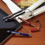 Dynamic Duo Stylus With Pen Imprinted Logo