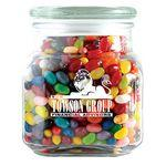 Custom Printed Standard Jelly Beans in Large Glass Jar