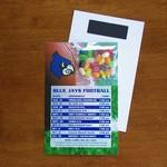 Mini Bag Jelly Bellies on Stick Up Card Custom Printed