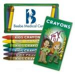 Logo Branded 6 Pack Crayons