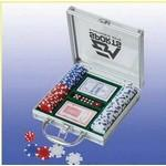 Promotional 100 Piece Casino Style Poker Set (Screened)