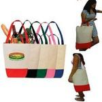 Dual Handle Cotton Shopping Tote Bag Logo Branded