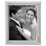 Reed & Barton Watchband Silver Plate 8 X 10 Picture Frame Custom Printed