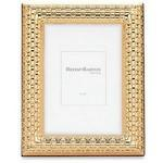 Logo Printed Reed & Barton Watchband Satin Gold 4x 6 Picture Frame