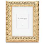 Reed & Barton Watchband Satin Gold 4x 6 Picture Frame Custom Printed