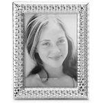 Custom Printed Reed & Barton Watchband Silver Plate 4 X 6 Picture Frame