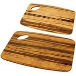 Grove Bamboo Cutting Board Set Custom Printed