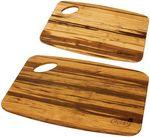 Logo Branded Grove Bamboo Cutting Board Set