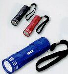 8 LED Flashlight Logo Branded