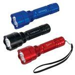 Logo Imprinted Tactical Triple Output Flashlight (XR-E Q5 CREE®)