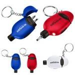 Tool Light Key Chain Logo Branded