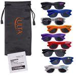 Fashion Sunglasses & Lens Cleaning Wipes in a Pouch Logo Branded