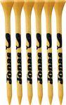 "6 Pack of Bamboo Golf Tees (3 1/4"") Custom Imprinted"