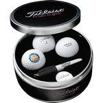 Custom Imprinted Titleist Pro V1 Collection Tin