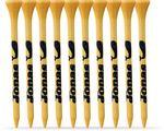 "Logo Printed 10 Pack of Bamboo Golf Tees (2 3/4"")"