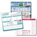 Logo Branded Paper Calendar Mouse Pad