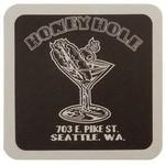 "Custom Imprinted 40 Pt. 4"" Square Coaster - White High Density Coasters - The 500 Line"
