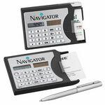 Calculator / Business Card Holder Custom Imprinted