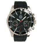 Custom Imprinted Men's Pedre Chronograph Sport Watch W/ Black Dial