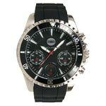 Men's Chronograph Sport Watch W/ Black Dial Branded