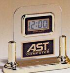 Branded Airflyte Acrylic LCD Movement Clock