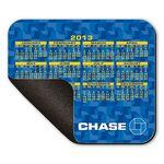 "Logo Branded Mouse Pad - 8""X9.5"" Hard Top Custom Calendar Rectangle Mouse Pad with 1/8"" Foam Base"
