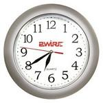 "10 3/8"" Round Wall Clock Logo Printed"