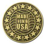 High Volume Die Struck Lapel Pins - Made in USA Custom Imprinted