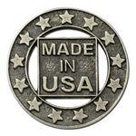 Custom Imprinted High Volume Made in USA Custom Cast Pins