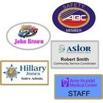 Full Color Name Badges Custom Imprinted