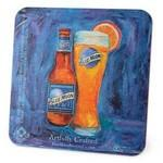 "Medium Weight Round or Square Coaster (3.5"" and 4"") Custom Printed"