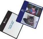Flip Flap Photo Mouse Pad (Holds 2 Photos) (Chroma Digital Direct Print) Logo Branded