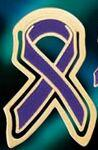 Domestic Violence Awareness Ribbon Bookmark Logo Branded