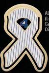 Lou Gehrig's Disease (ALS) Awareness Ribbon Bookmark Custom Printed