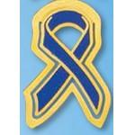 Child Abuse Awareness Ribbon Bookmark Branded